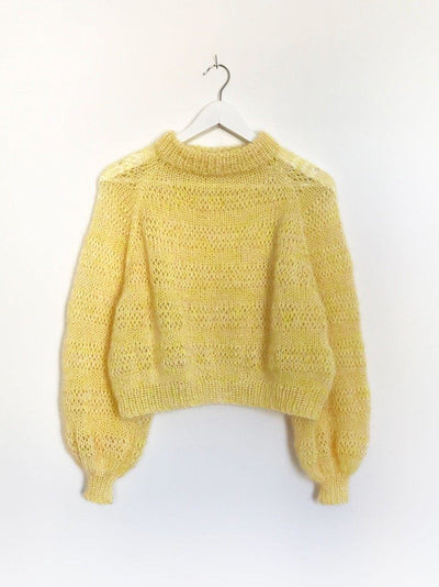 Lykke Jumper by Spektakelstrik, No 10 kit Knitting kits Spektakelstrik