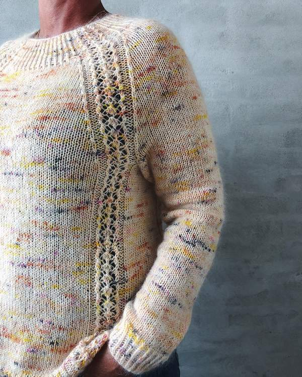 Madicken sweater, knit in Hedgehog Fibres - Önling Nordic knitting patterns and yarn
