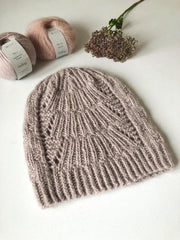 Magnum Hat, No 1 + silk mohair knitting kit