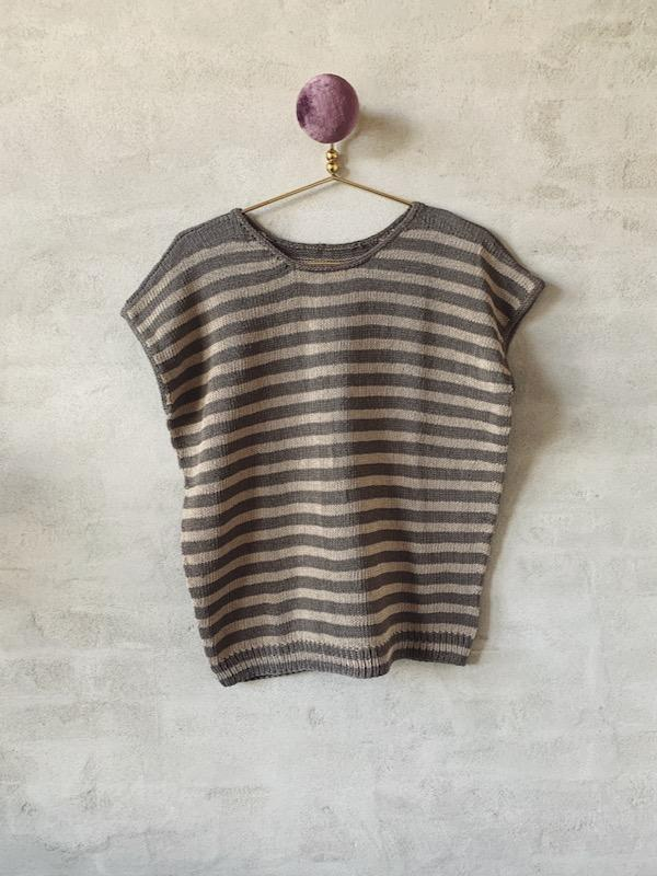 Ohoy summer top, No 14 knitting kit