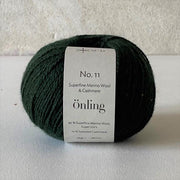 Önling No 11, sustainable merino/cashmere yarn Yarn Önling Bottle green (7)