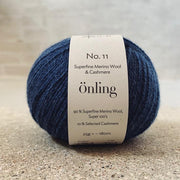 Önling No 11, sustainable merino/cashmere yarn Yarn Önling Denim blue (41)
