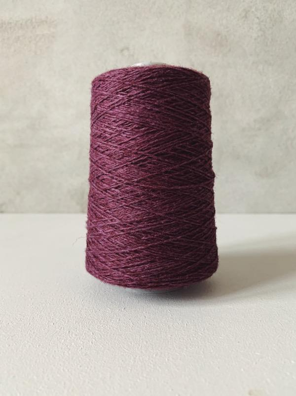 Önling No 12 - Everyday yarn, wool and cotton Yarn Önling Aubergine (41)