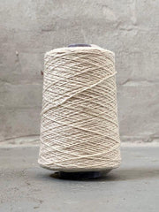 White Önling No 12 everyday yarn, wool and cotton - Önling Nordic knitting patterns and yarn