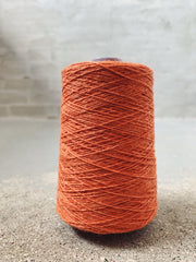 Orange Önling No 12 everyday yarn, wool and cotton - Önling Nordic knitting patterns and yarn