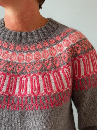 Rosir, Icelandic sweater, No 1 kit Knitting kits Önling - Katrine Hannibal