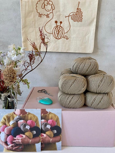 Silk Yarn Box knitting boxes Önling