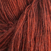Isager Spinni 100% wool, color no 1s, rusty red