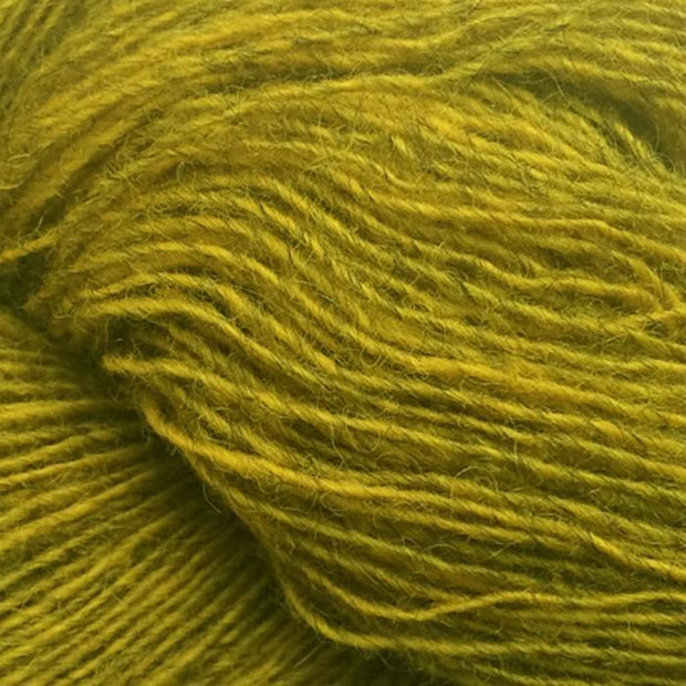 Isager Spinni 100% wool, color no 22s, olive yellow
