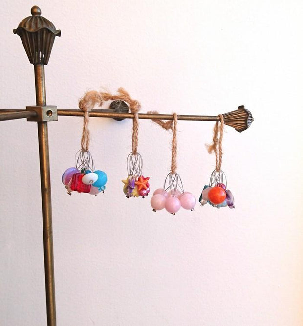 Önling maskemarkører, Stitch Markers with pearls in many colors