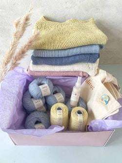 Summer Yarn Box - Large Knitting boxes Önling - Katrine Hannibal