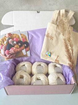 Summer yarn box - small Knitting boxes Önling - Katrine Hannibal