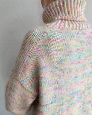 Wednesday Sweater af PetiteKnit, No 1 + Silk mohair kit Strikkekit PetiteKnit