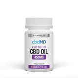 CbdMD Oil Capsules 450mg 30 Count