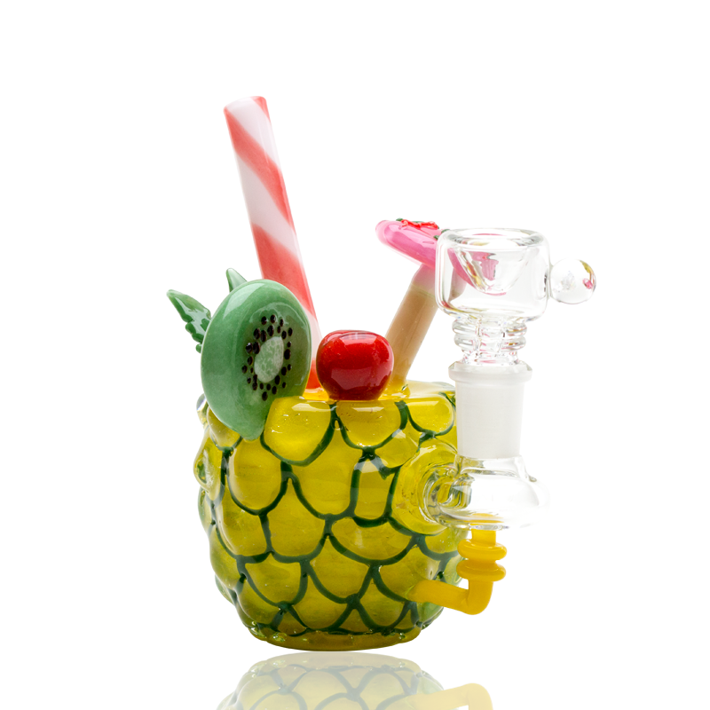 Empire Glassworks Pineapple Cocktail Rig water pipe