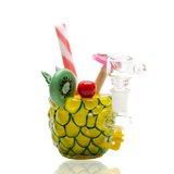 Empire Glassworks Pineapple Cocktail Rig water pipe - hempgeek