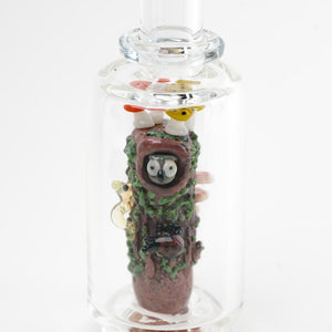 Empire Glassworks Hootie the Owl Woods Forest Puffco Peak Glass Attachment
