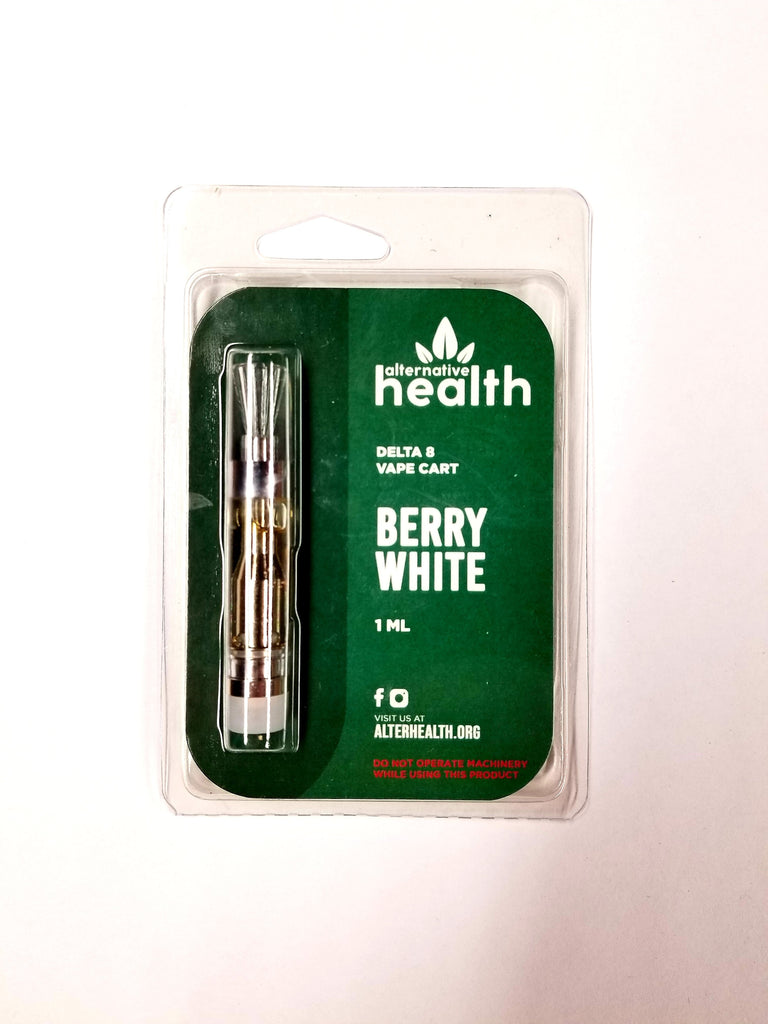 Alternative Health Delta-8-THC D8 Vape Cartridge - Berry White - hempgeek