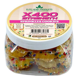 Elite CBD Cookies 400mg Jar - HempWholesaler.com