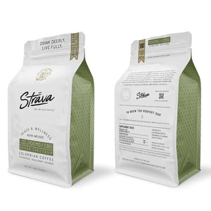 Strava Craft Infused CBD Coffee - 12oz Bag - CLEARANCE SALE - hempgeek Intro 100mg