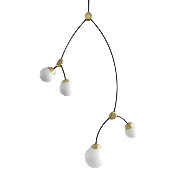 CTO Lighting IVY VERTICAL 4 Pendant Light