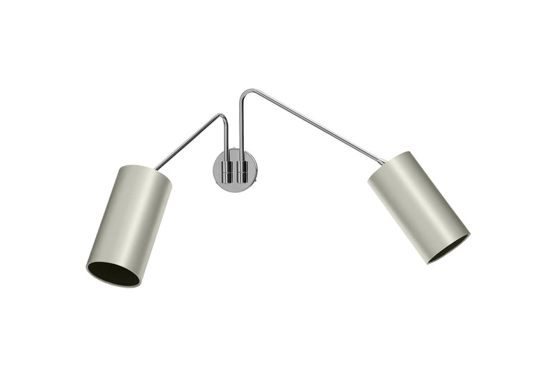 CTO Lighting ARRAY TWIN COTTON Wall Light