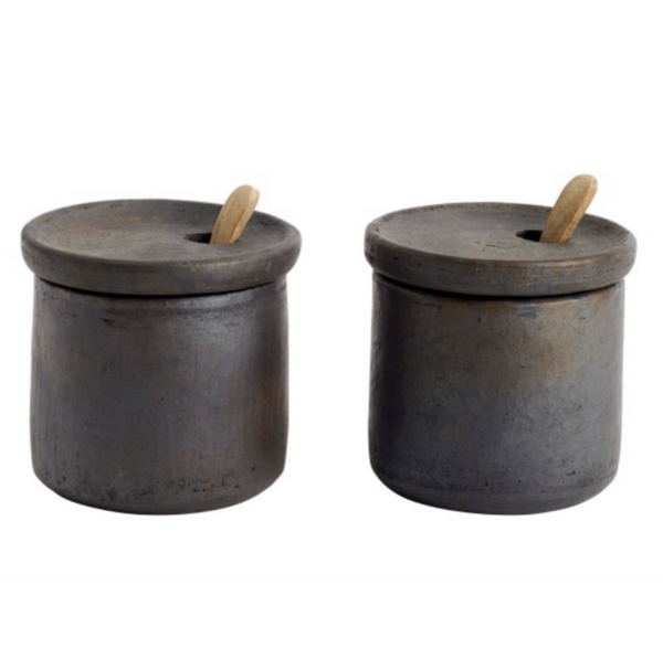 Muubs Terracotta Salt & Pepper Pots