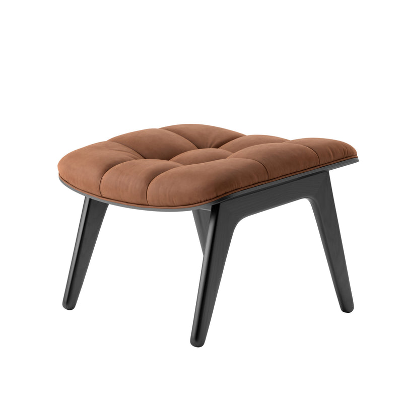 NORR11 MAMMOTH OTTOMAN in Vintage Leather