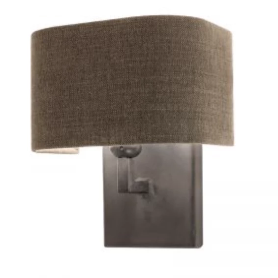 Nicora Lead Grey Wall Light by Tierlantijn