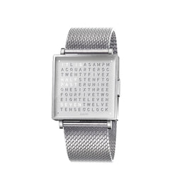 QLOCKTWO W35 35mm Fine Steel Wristwatch