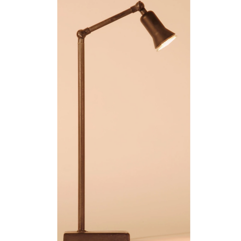 Sirmione Lead Grey Table Lamp  by Tierlantijn