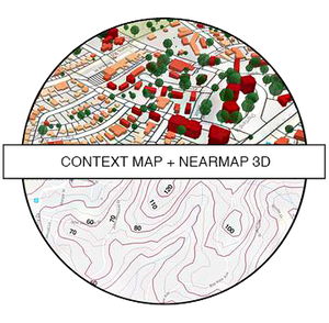 Context Map + Nearmap 3D - Pay Per Site