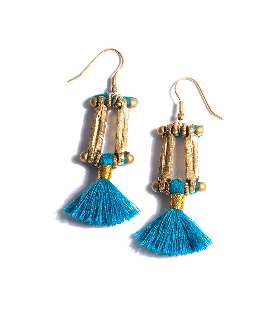 Tassel Earrings (HB-TER) Celeste