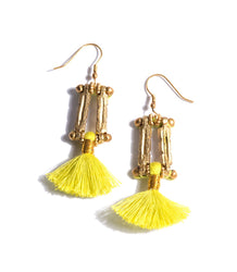 Tassel Earrings Lima