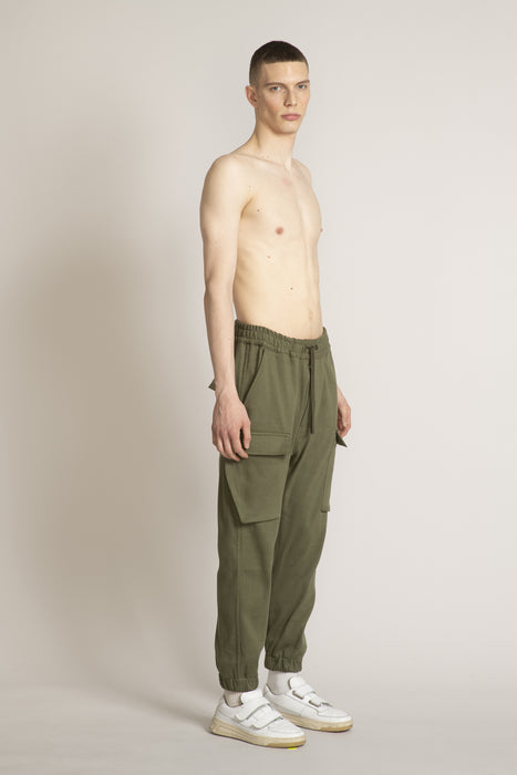 THE PLEDGE CARGO PANT IN ARMY