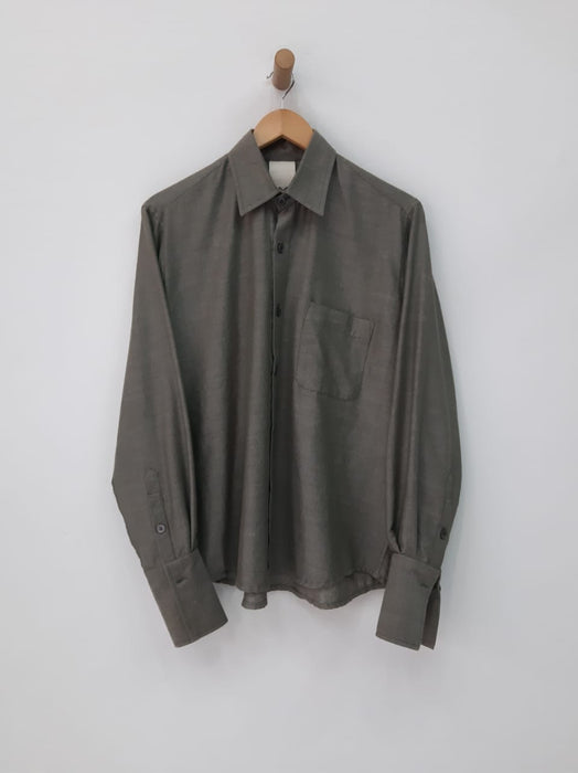 ARMY FRENCH CUFF SHIRT