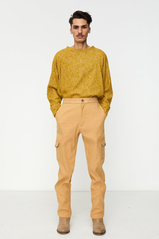 Boiler Pants in Camel