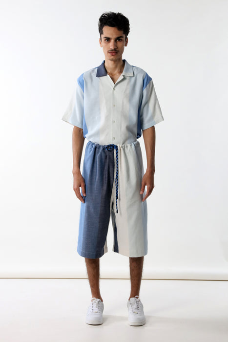 LONG SHORT : BLUE DEGRADE