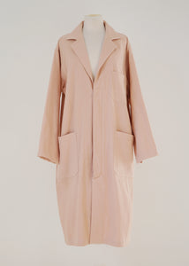 BLUSH LAB COAT