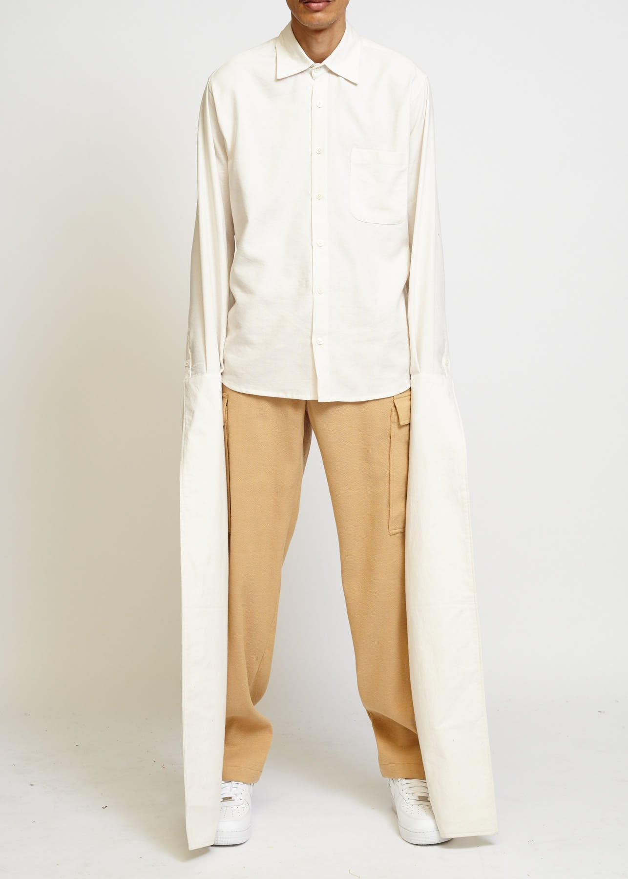FRENCH X-LONG CUFF SHIRT