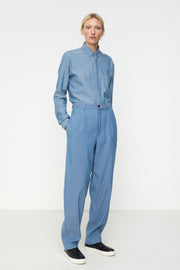 High Waisted Tailored Trouser