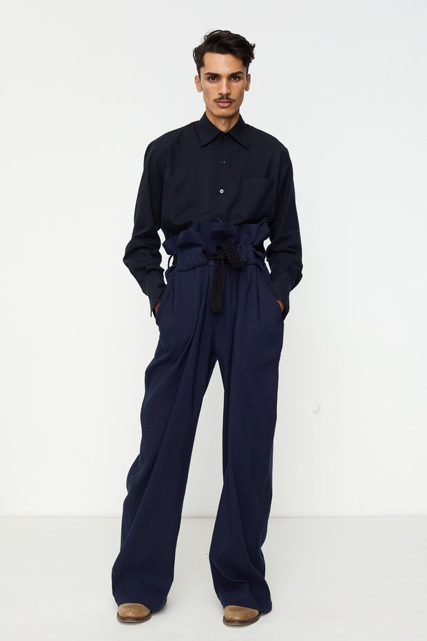 Oversized High Waisted Pant