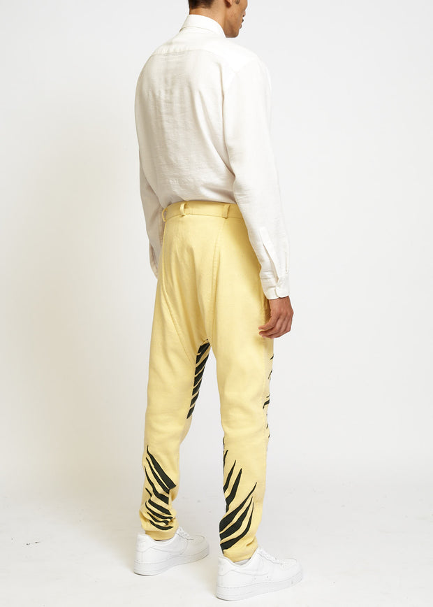 DROP CROTCH TAILORED TROUSER