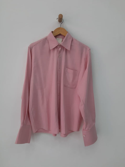 COSMOS PINK FRENCH CUFF SHIRT
