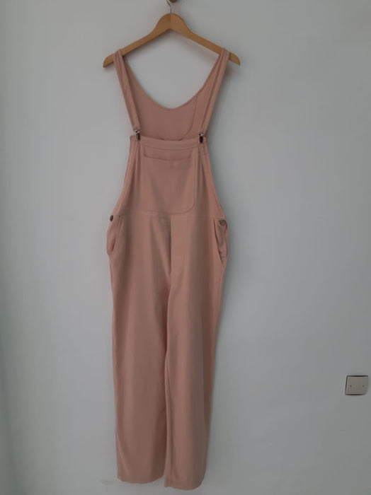CLIP OVERALL IN BLUSH SOLID