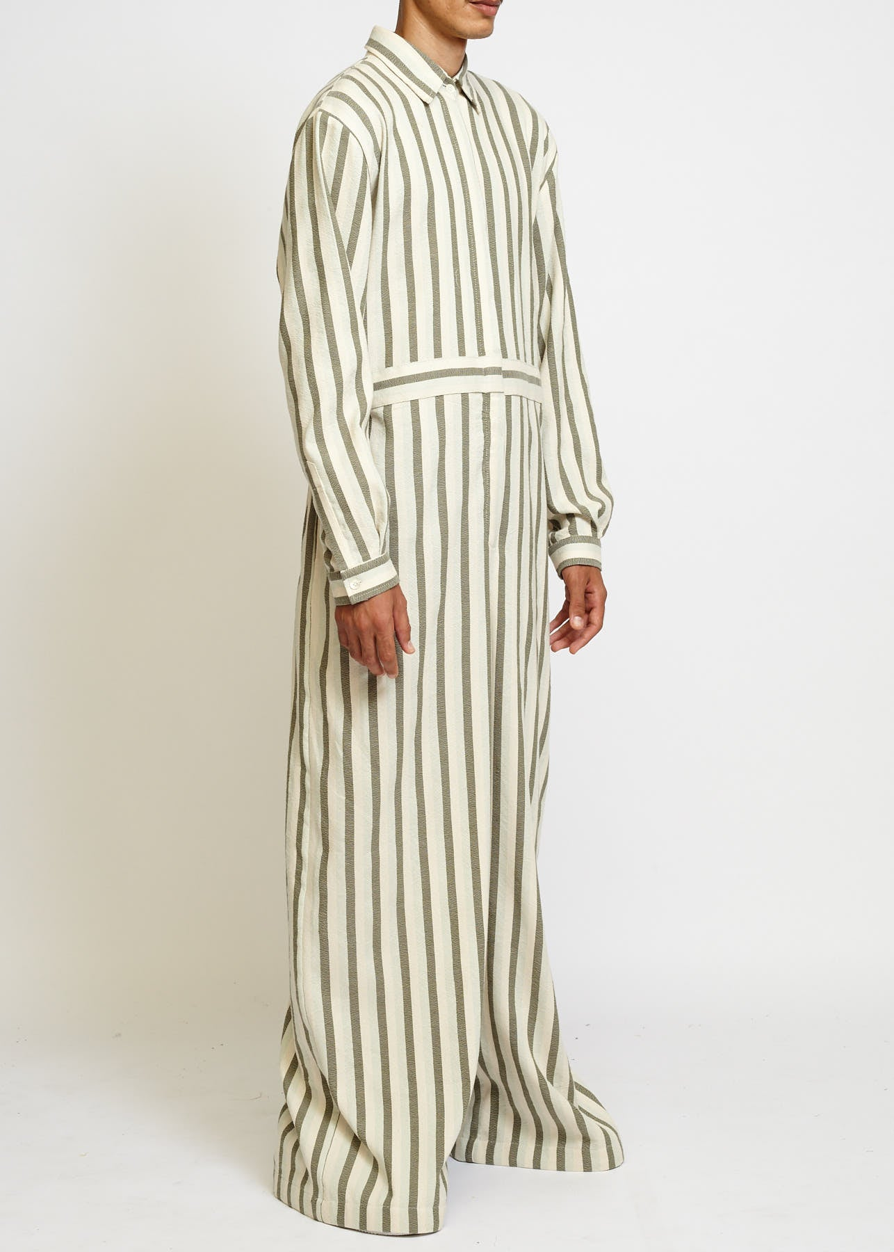 WIDE LEG LONG SLEEVE JUMPSUIT