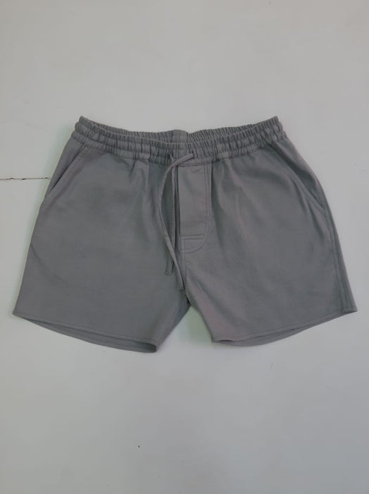 GREY CROPPED SHORT