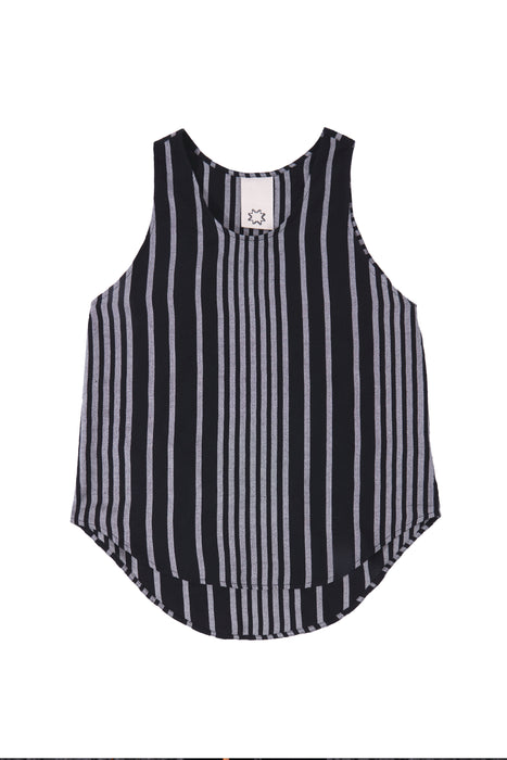 TANK TOP : OPTIC STRIPE