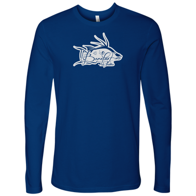Barefoot In Public Men's Hogfish Logo