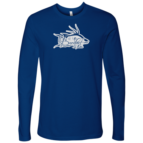 Image of Barefoot In Public Men's Hogfish Logo